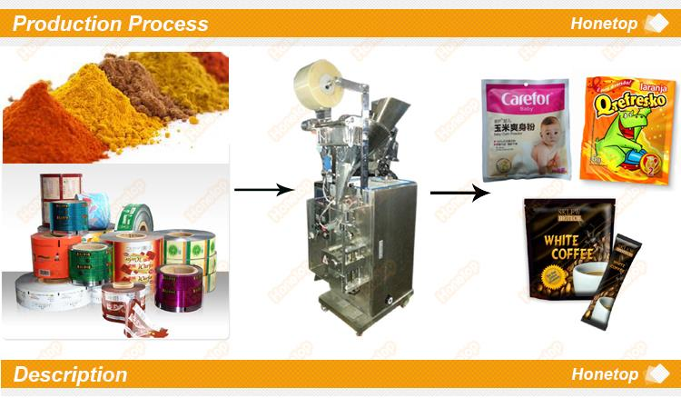 Automatic small drip sachet coffee powder packing machine, vertical instant coffee bag packaging machine price