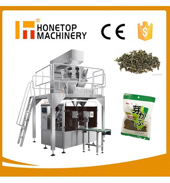 Rotary Premade Pouch Packing Machines