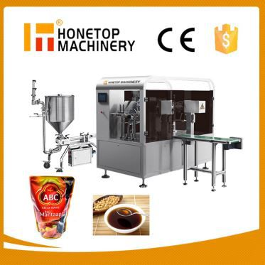 Auto Liquid Pouch Packing Machine in China
