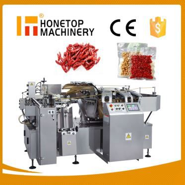 Automatic Rotary Vacuum Filling and Sealing Machine