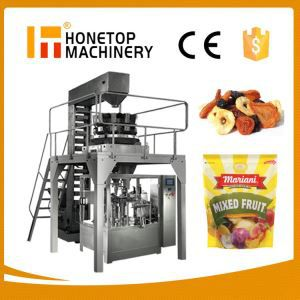 Dried Fruit Full Automatic Packing Machine High Efficient
