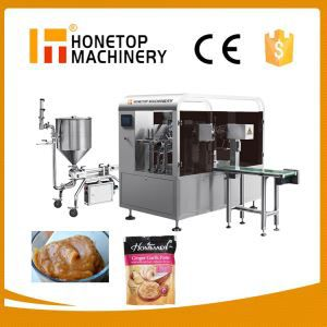 Liquid and Paste Packing Machine for Pouch Low Price