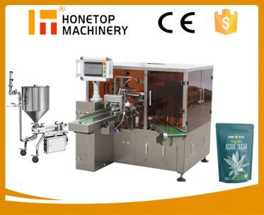 Liquid and Paste Packing Machine for Pouch