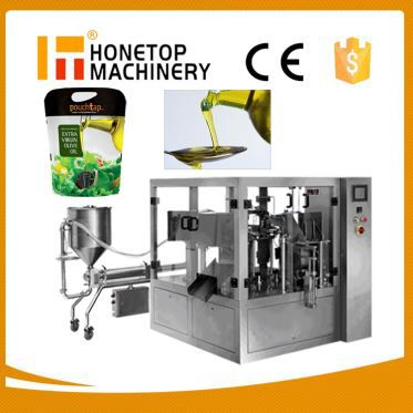 Mustard Oil Pouch Packing Machine High Speed