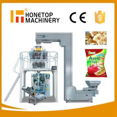 Fully Automatic Pouch Type Vertical Solid and Granular Package Machine High Speed