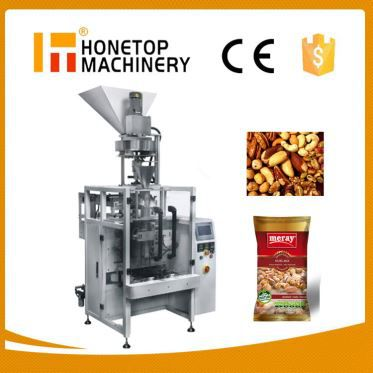 Fully Automatic Pouch Type Vertical Granular Fill Seal Package Machine High Speed
