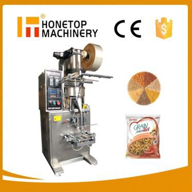 Small Automatic Pouch Vertical Granular Package Machine High Efficient