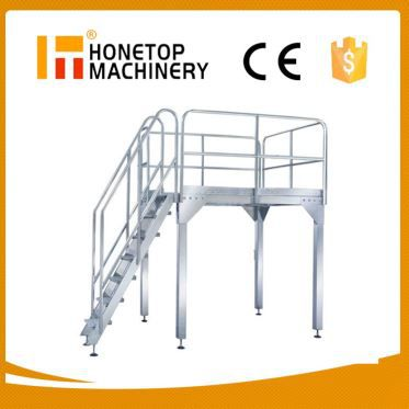 Mobile Double Mast Aluminium Work Platform