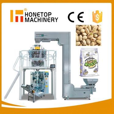 Pistachio Nuts Automatic Vertical Packing Machine Cos