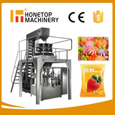 Pouch Packaging Machine for Gummy Candy