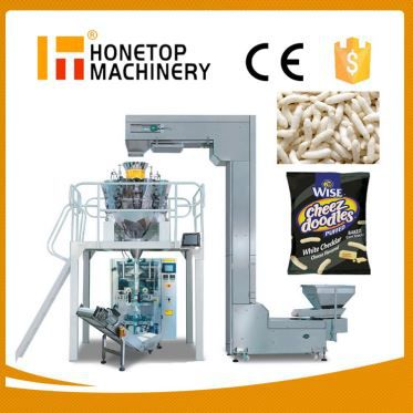Puffing Food Automatic Vertical Packing Machine