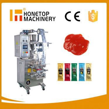 Small Ketchup Sauce Bag Packing Machine in China
