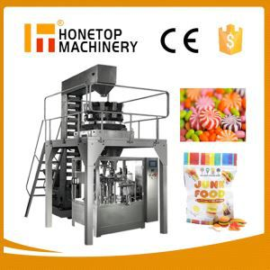 Soft Sweets Candy Full Automatic Packing Machine High Speed