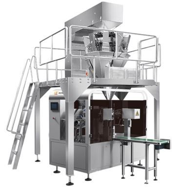 CE Approved Walnut Weighing Pre-made Pouch Fill And Seal Rotary Packing Machine