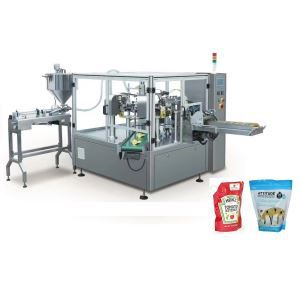 China Liquid and Paste Pouch Packing Machines Factory
